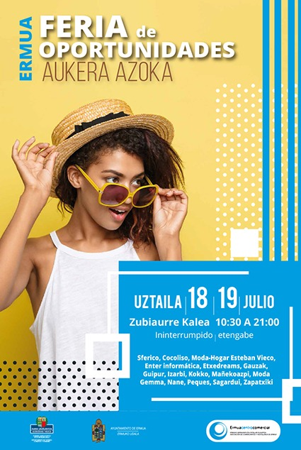 Feria de Oportunidades en Ermua el 18 y 19 de julio